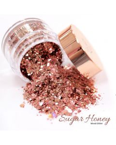 Glitterbels Loose Glitter 15g Sugar Honey Mixed