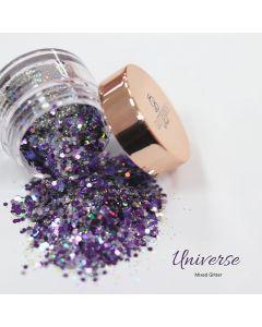 Glitterbels Loose Glitter 15g Universe Mixed