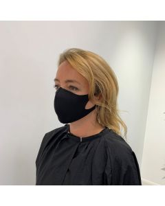 Salons Direct Black Fabric Face Mask