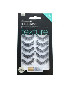 Salon System Naturalash 109 Black Texture Strip Lashes Multipack x5