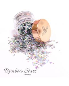 Glitterbels Loose Glitter 15g Rainbow Stars