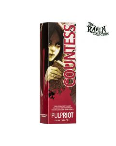 Pulp Riot Semi-Permanent Hair Color Raven Collection Countess 118ml