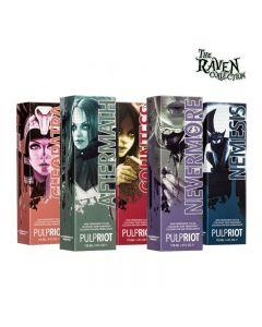 Pulp Riot Semi-Permanent Hair Color Raven Collection