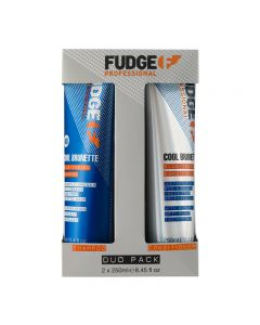 Fudge Professional Cool Brunette Blue-Toning Duo 2 x 250ml