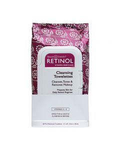 Retinol Cleansing Towelettes x 60