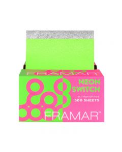 Framar Neon Switch Pop Up Foil Sheets x 500 (28cm x 13cm)