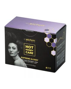 Elchim Hot Honey Care Supreme Glossy Anti-Frizz Treatment Pods x12