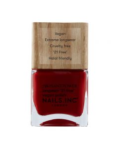 Nails Inc Swear By Salutation Plant Power Nail Polish 14ml