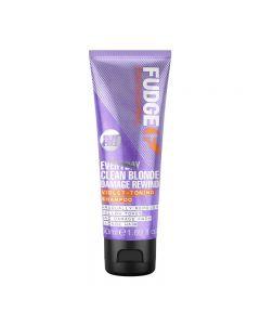 Fudge Professional Every Day Clean Blonde Damage Rewind Shampoo 50ml