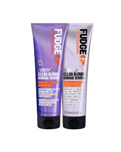 Fudge Professional Every Day Clean Blonde Damage Rewind Duo 2x250ml
