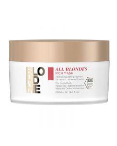 Schwarzkopf BLONDME All Blondes Rich Mask 200ml