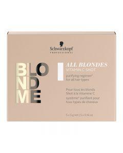 Schwarzkopf BLONDME All Blondes Detox Vitamin C Shots 5 x 5g