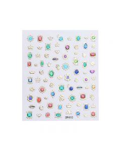World Of Glitter Royal Nail Art Sticker Sheet