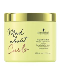 Schwarzkopf Mad About Curls Superfood Rinse-off Mask 650ml