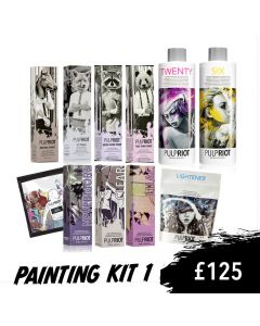 Pulp Riot Painting Kit 1 glam.by.heather Masterclass