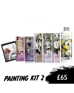 Pulp Riot Painting Kit 2 glam.by.heather Masterclass