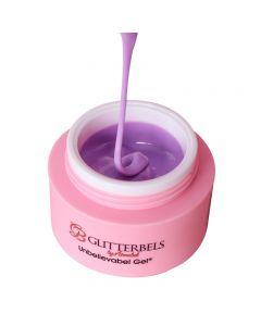 Glitterbels Unbelievabel Gel 10ml Luscious Lilac