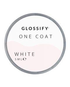 Glossify One Coat Gel 5ml White