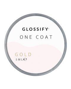 Glossify One Coat Gel 5ml Gold