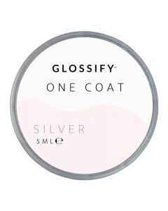 Glossify One Coat Gel 5ml Silver