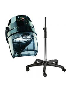 Ceriotti Diamante 3000 2 Speed Hood Dryer Black With Pedestal