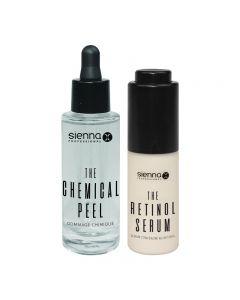 Sienna X Retinol Serum 20ml and Chemical Peel 30ml