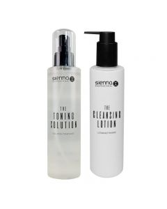 Sienna X The Cleansing Lotion 200ml & The Toning Solution 200ml