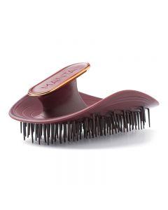 Manta Hair Brush Burgundy