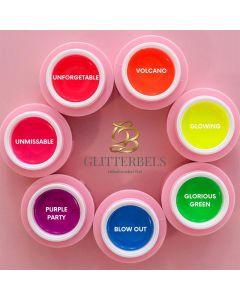 Glitterbels Unbelievabel Gel Naughty Neons Collection