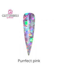 Glitterbels Coloured Acrylic Powder 28g Purrfect pink
