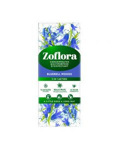 Zoflora Bluebell Woods 500ml Concentrated Multipurpose Disinfectant
