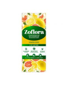 Zoflora Lemon Zing 500ml Concentrated Multipurpose Disinfectant