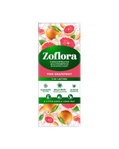 Zoflora Pink Grapefruit 500ml Concentrated Multipurpose Disinfectant