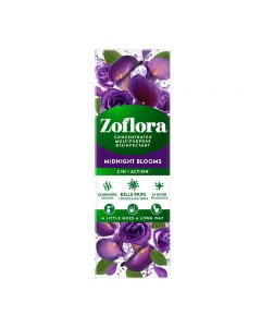 Zoflora Midnight Blooms 500ml Concentrated Multipurpose Disinfectant (2x250ml)