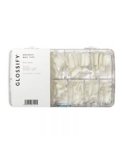 Glossify Advance Natural Assorted Nail Tips x 500