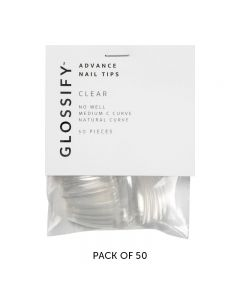 Glossify Advance Clear Nail Tips Size 3 x 50
