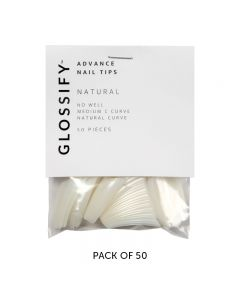 Glossify Advance Clear Nail Tips Size 8 x 50