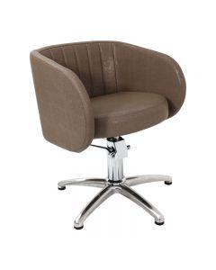 Capri Hydraulic Styling Chair Black
