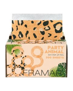 Framar Party Animal Pop Up Foil Sheets x 500 (28cm x 13cm)