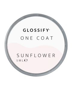 Glossify One Coat Gel 5ml Sunflower