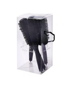 Olivia Garden Black Label Speed XL 4 Piece Brush Kit