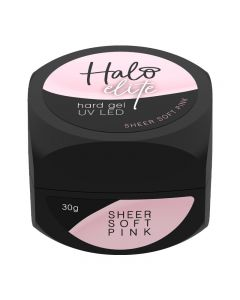 Halo Elite Hard Gel Sheer Soft Pink 30g