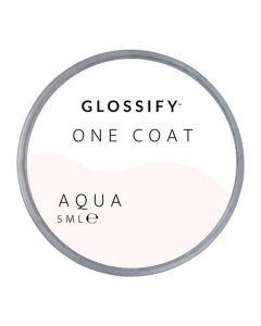 Glossify One Coat Gel 5ml Aqua