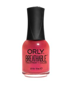Orly Breathable All Dahlia'd Up Treatment + Colour Polish 18ml Super Bloom Collection