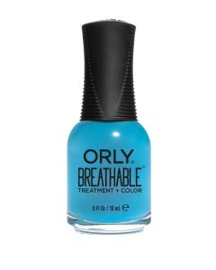 Orly Breathable Downpour Whatever Treatment + Colour Polish 18ml Super Bloom Collection