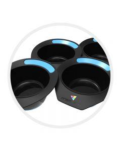 Prism Pot Barritz Bomb Blue Pack of 4 Tint Bowls