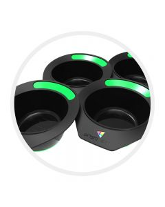 Prism Pot Galactic Grass Green Pack of 4 Tint Bowls