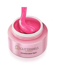 Glitterbels Unbelievabel Gel 10ml Pink Parade