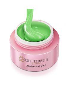 Glitterbels Unbelievabel Gel 10ml Greedy Green