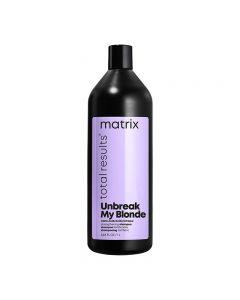 Matrix Unbreak My Blonde Strengthening Shampoo 1Litre